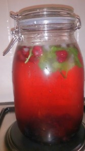 Mixed Berries and Mint.